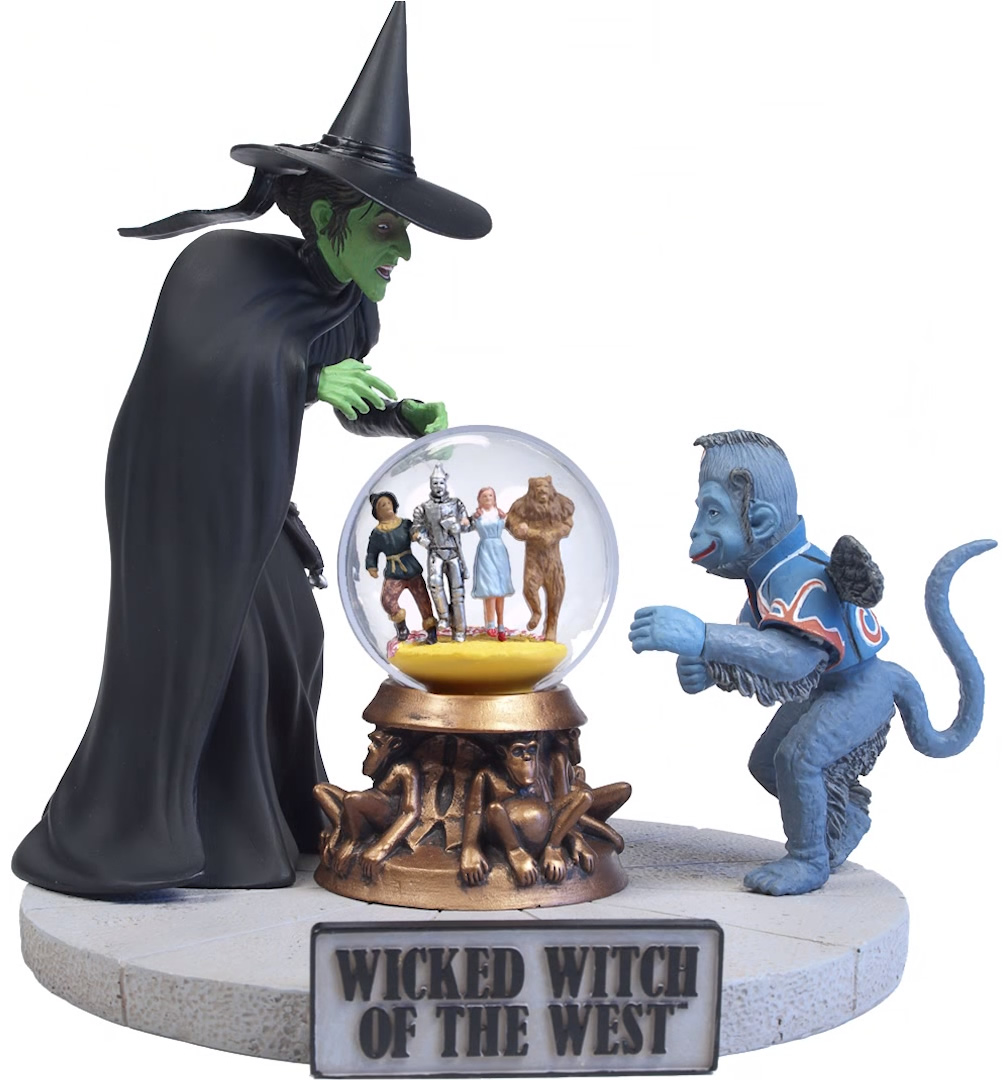 Polar lights the wizard of oz wicked witch of the west diorama