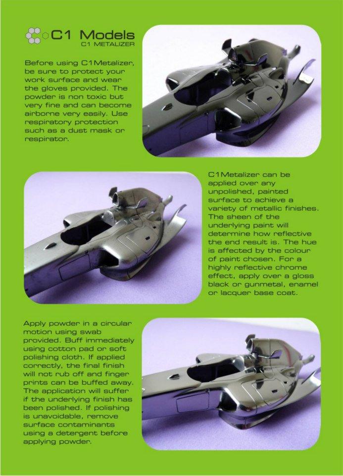 C1 Metalizer - Metalizing buffing powder