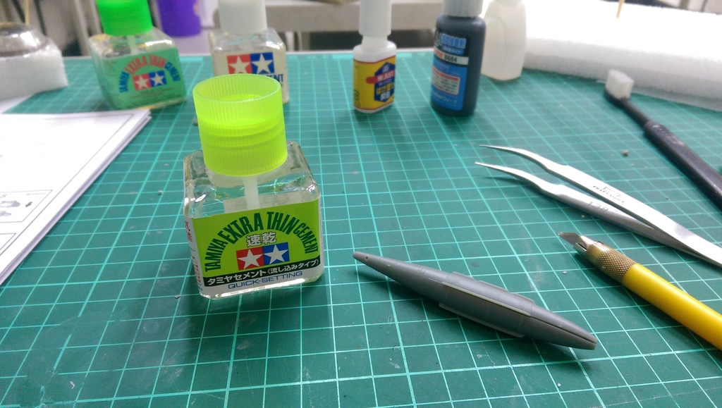 Tamiya 40ml Extra Thin Cement (Quick Setting) # 87182
