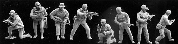Dragon 1/35 U.S. Navy Seal Team 6 # 3028