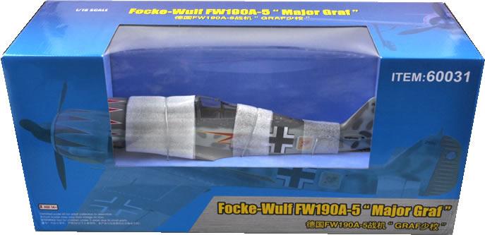 Merit 1/18 Focke-Wulf Fw-190A-5 Major Graf (built & painted) # 60031