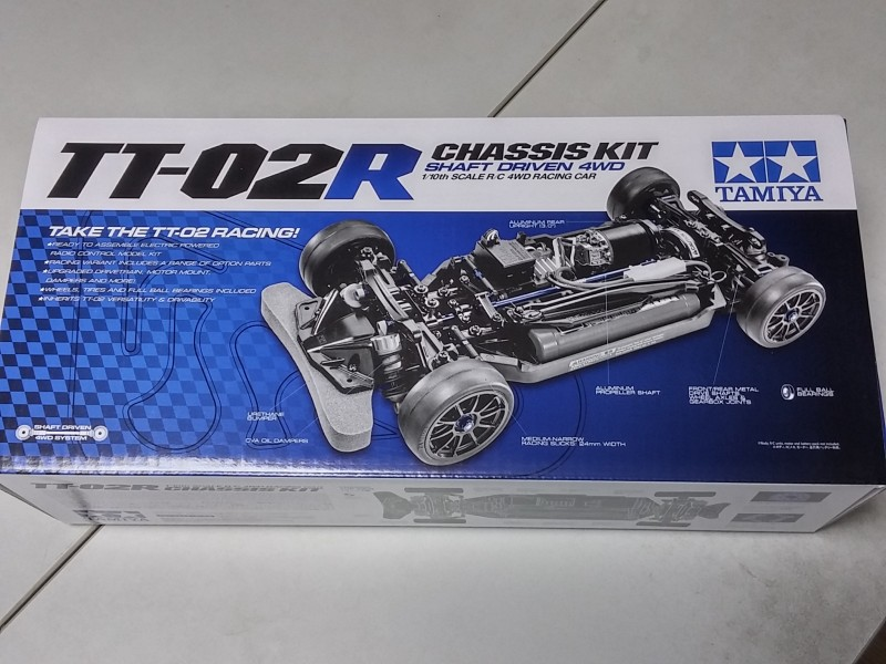 Tamiya 1/10 TT02-R Chassis Kit # 47326