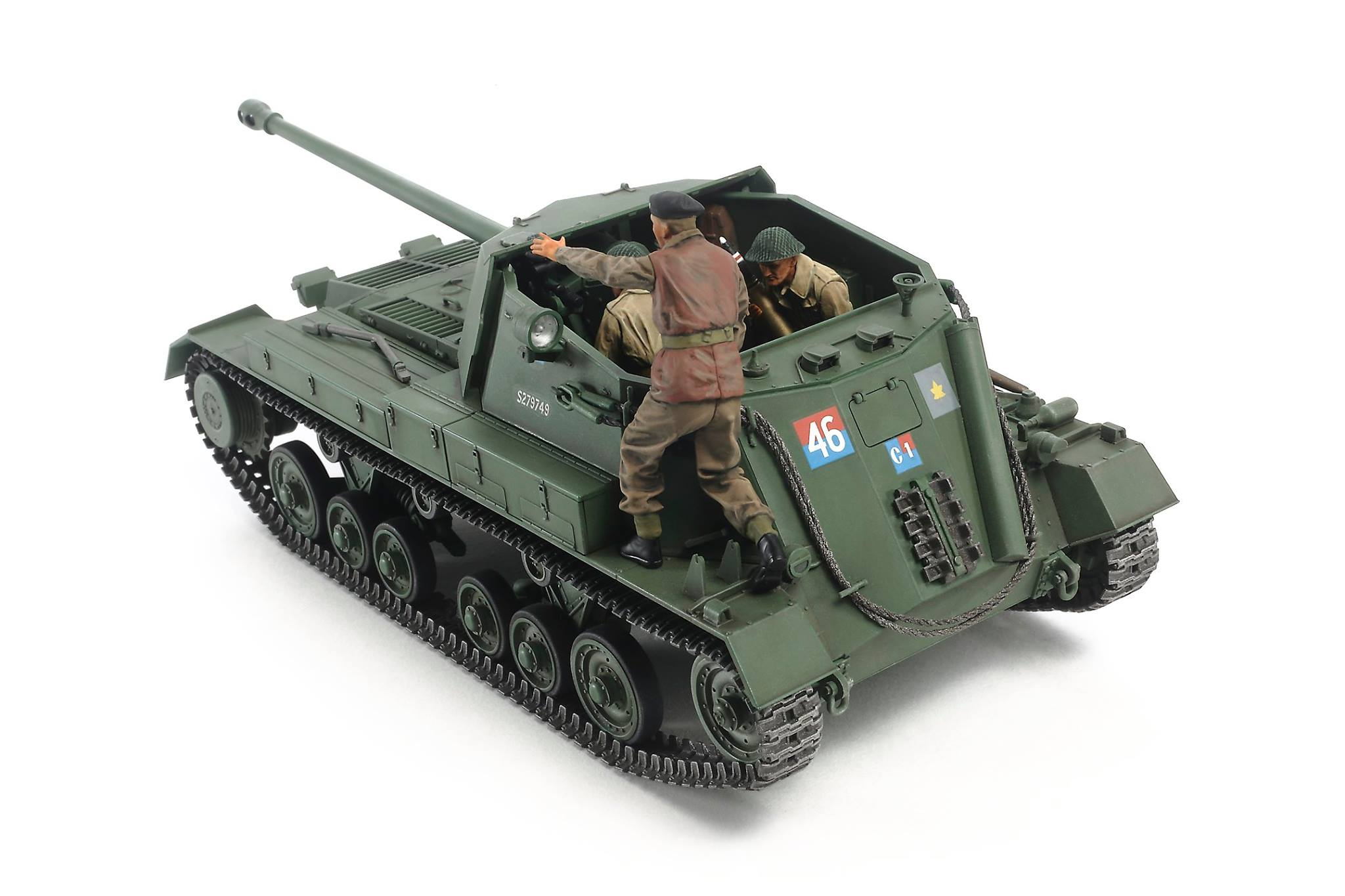 Tamiya 1/35 British Anti Tank Gun Archer – Self Propelled # 35356
