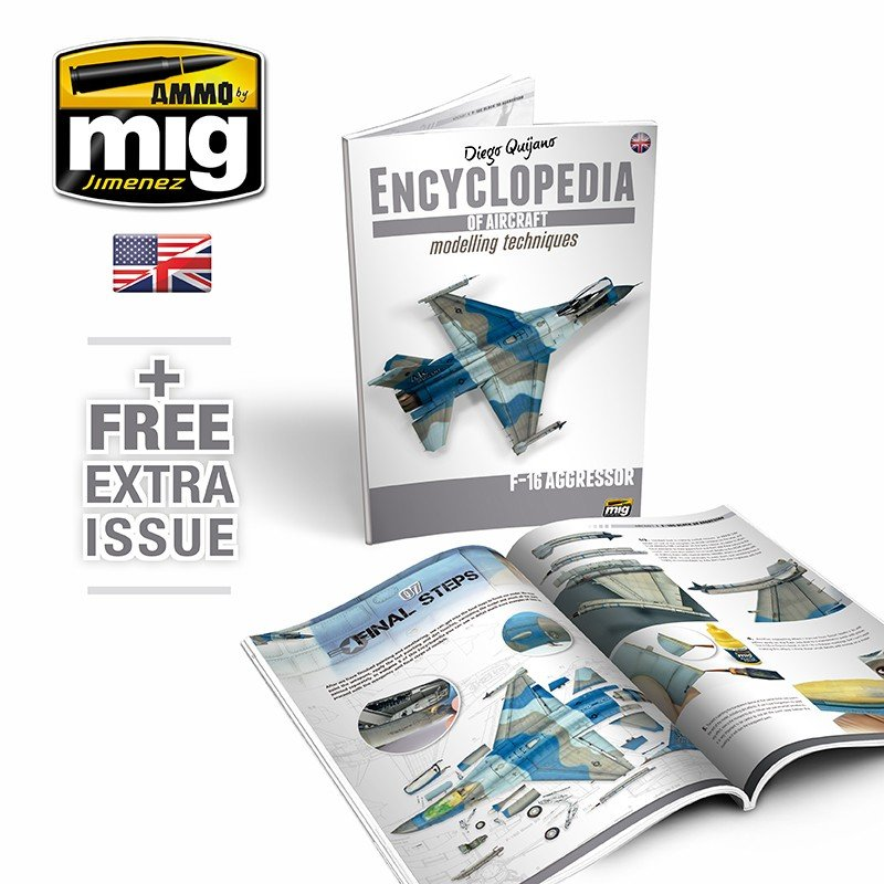 Ammo Mig Complete Encyclopedia Of Aircraft Modelling Techniques (English)