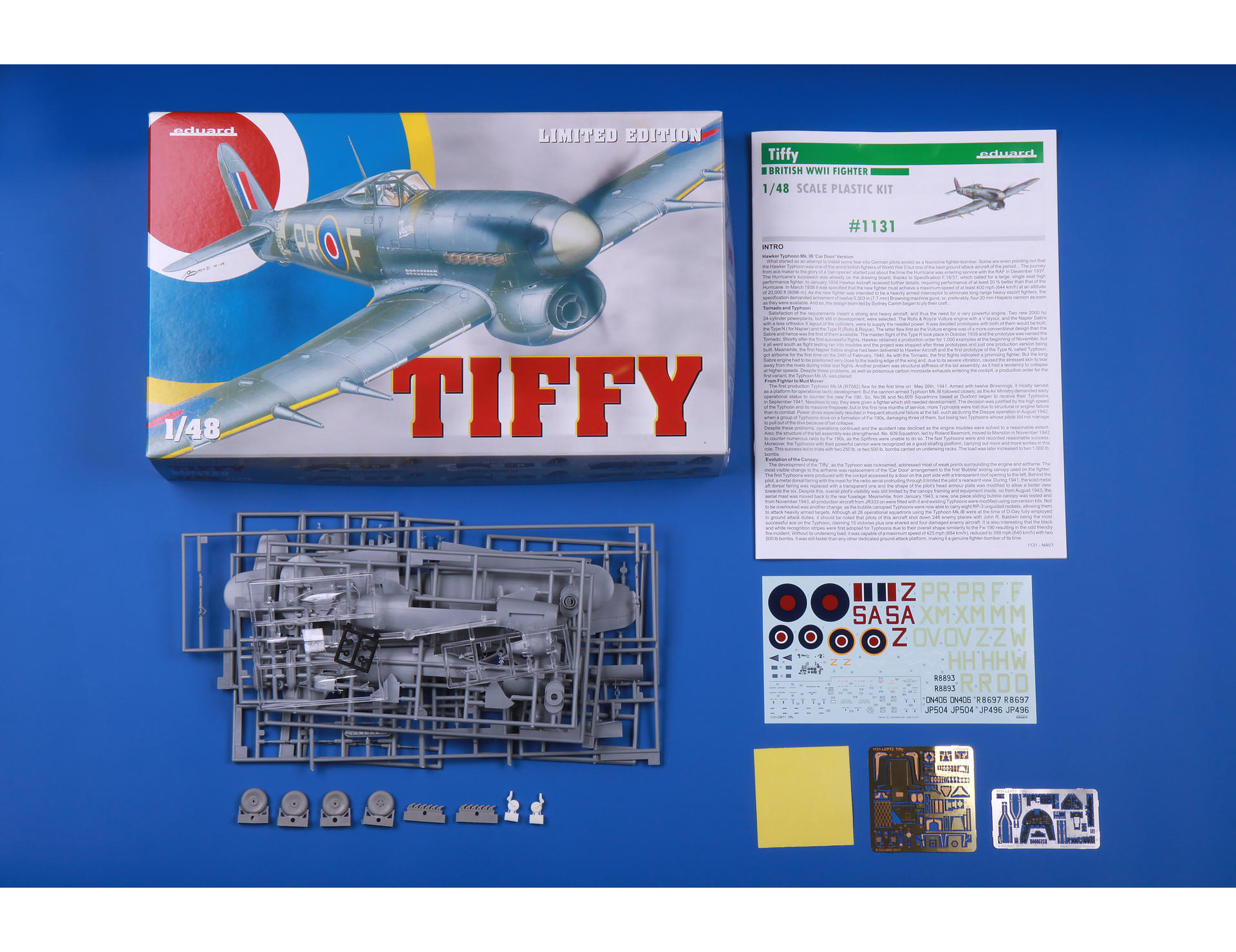 Eduard Kits 1/48 Ltd Edit Typhoon Mk.Ib # 1131
