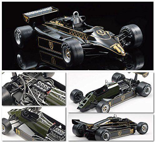 Ebbro 1/20 Team Lotus type 91 1982 British GP # 012