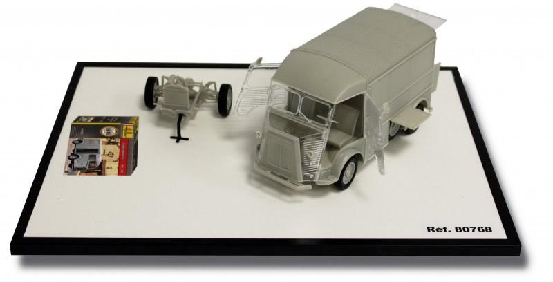 """Heller 1/24 Citroen Van """"HY"""" # 80768"""