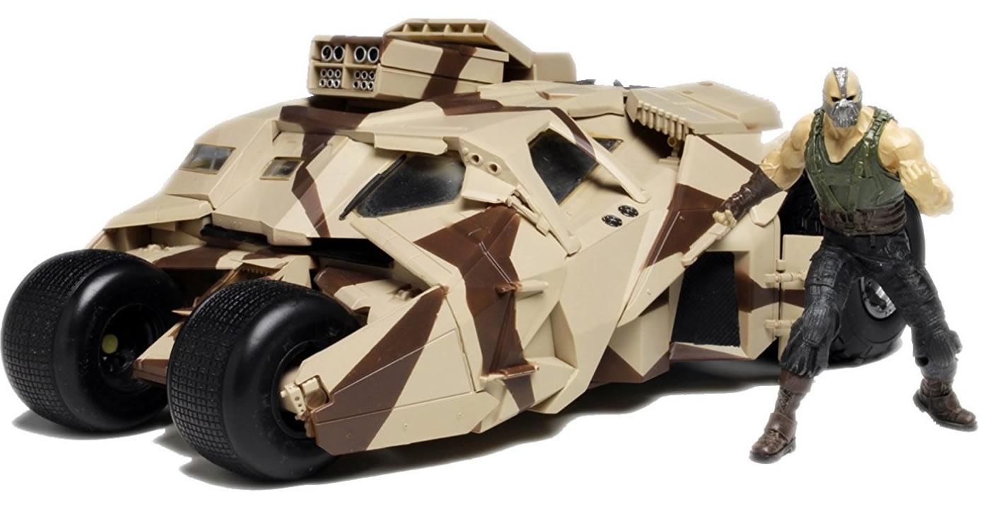 Moebius 1/25 Dark Knight Armoured Tumbler with Bane Figure # 967