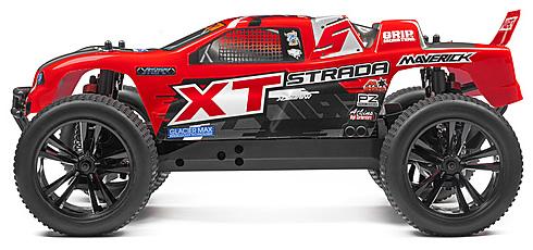 Maverick 1/10 Strada XT Red Brushless RTR Truggy # 12622