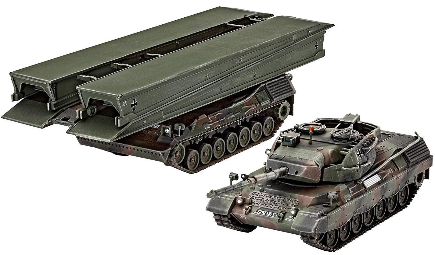 """Revell 1/72 Leopard 1A5 & Bridgelayer""""Biber"""" # 03307"""