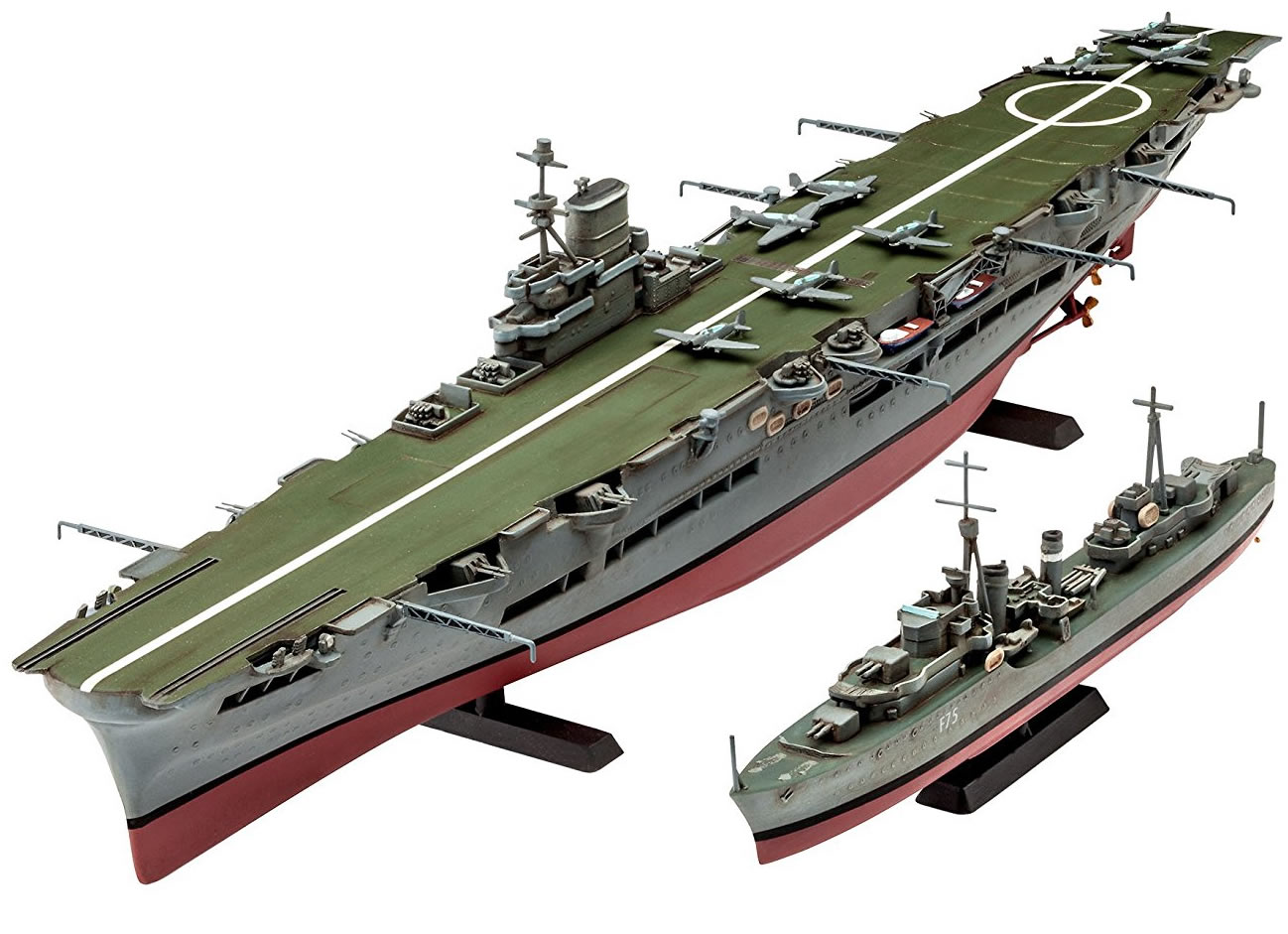 Revell 1/720 HMS Ark Royal & Tribal Class Destroyer # 05149