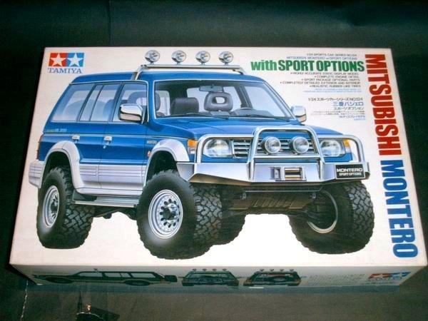 tamiya 1/24 mitsubishi montero with sport options # 24124 from