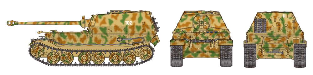 Tamiya 1/48 German Heavy Tank Destroyer Elefant # 32589