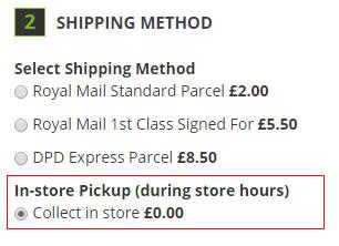 Free postage