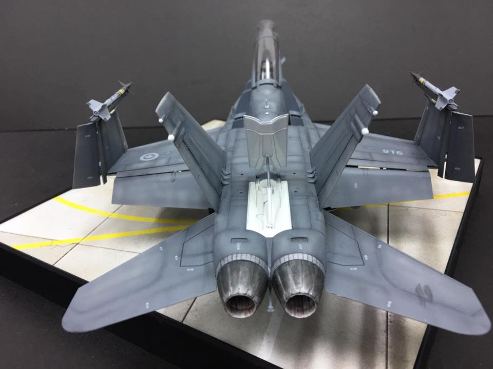 Kinetic 1/48 McDonnell-Douglas F/A-18A+/B/ Hornet / CF-188 # 48030