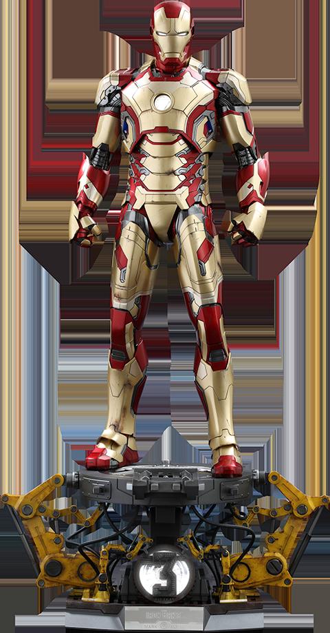 Hot Toys Iron Man Mark XLII (Deluxe Version) # 902767