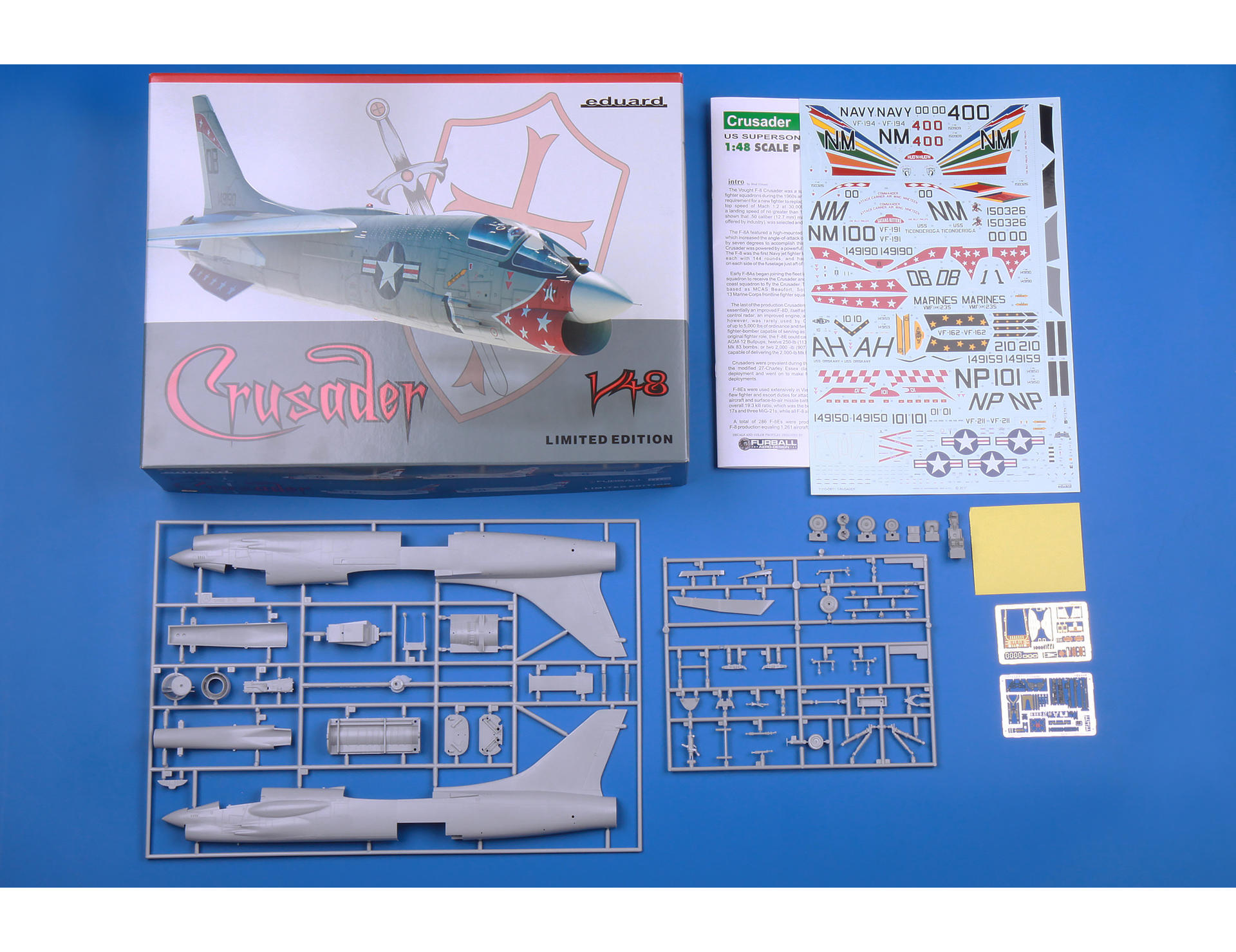 Eduard 1/48 Vought F-8E Crusader Limited Edition # 11110