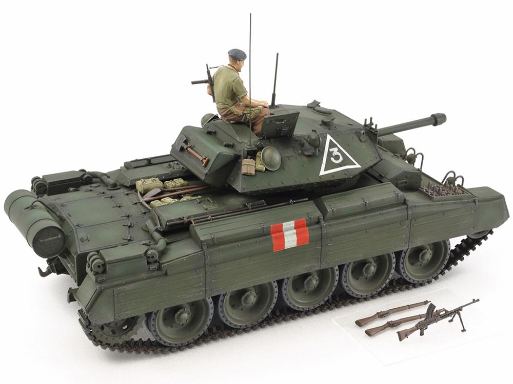 Tamiya 1/35 British Mk.VI Crusader Mk.III - Cruiser Tank # 37025