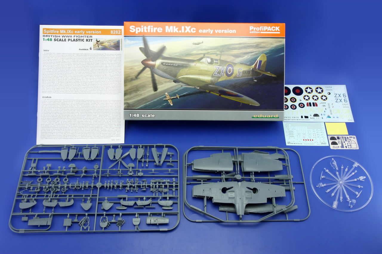 Eduard 1/48 Supermarine Spitfire Mk.IXc early version # 8282