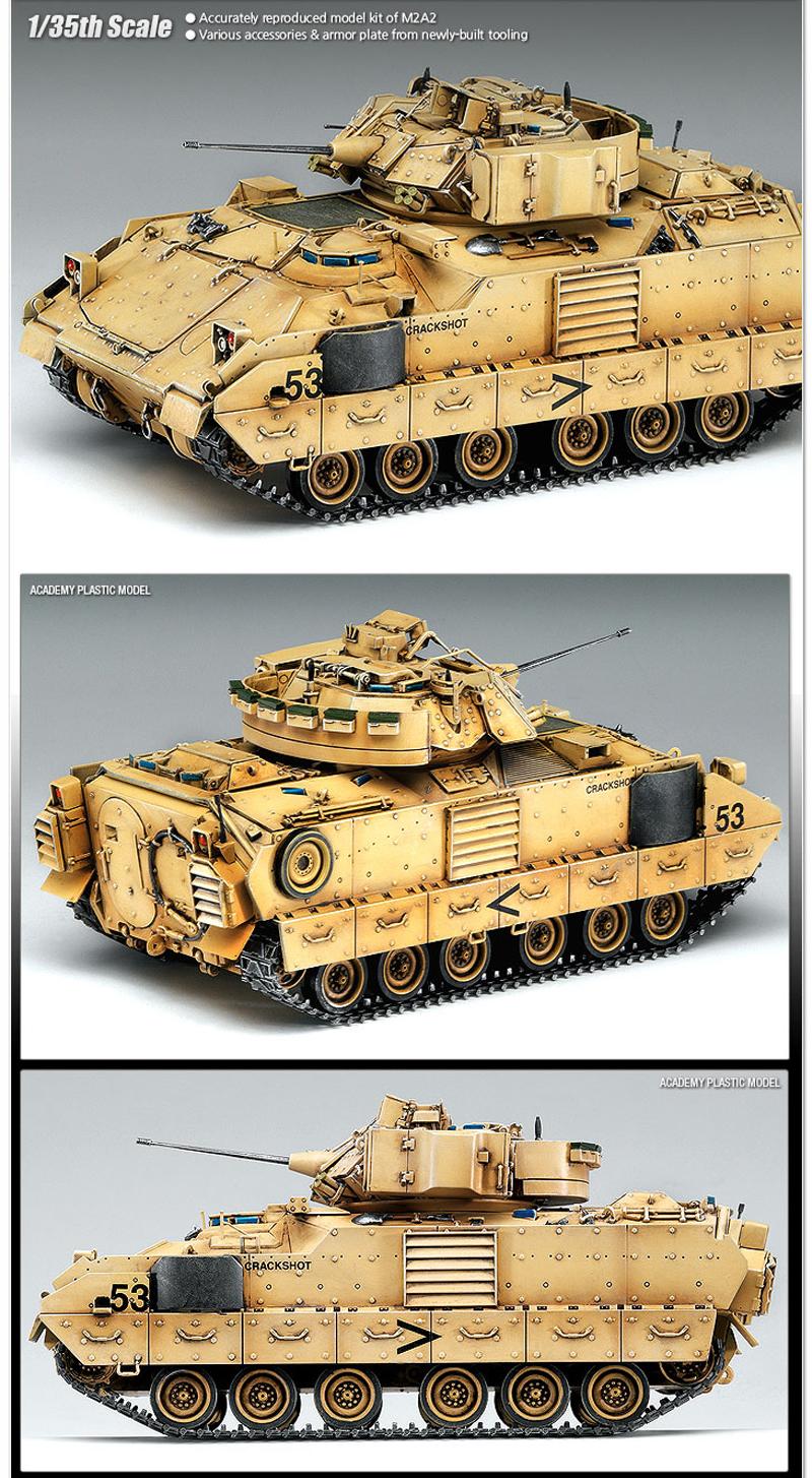 Academy 1/35 M3A2 Bradley Iraq 2003 # 13205