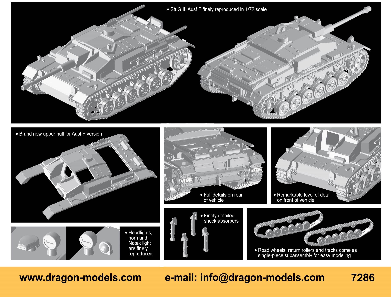 Dragon 1/72 StuG.III Ausf.F # 7286