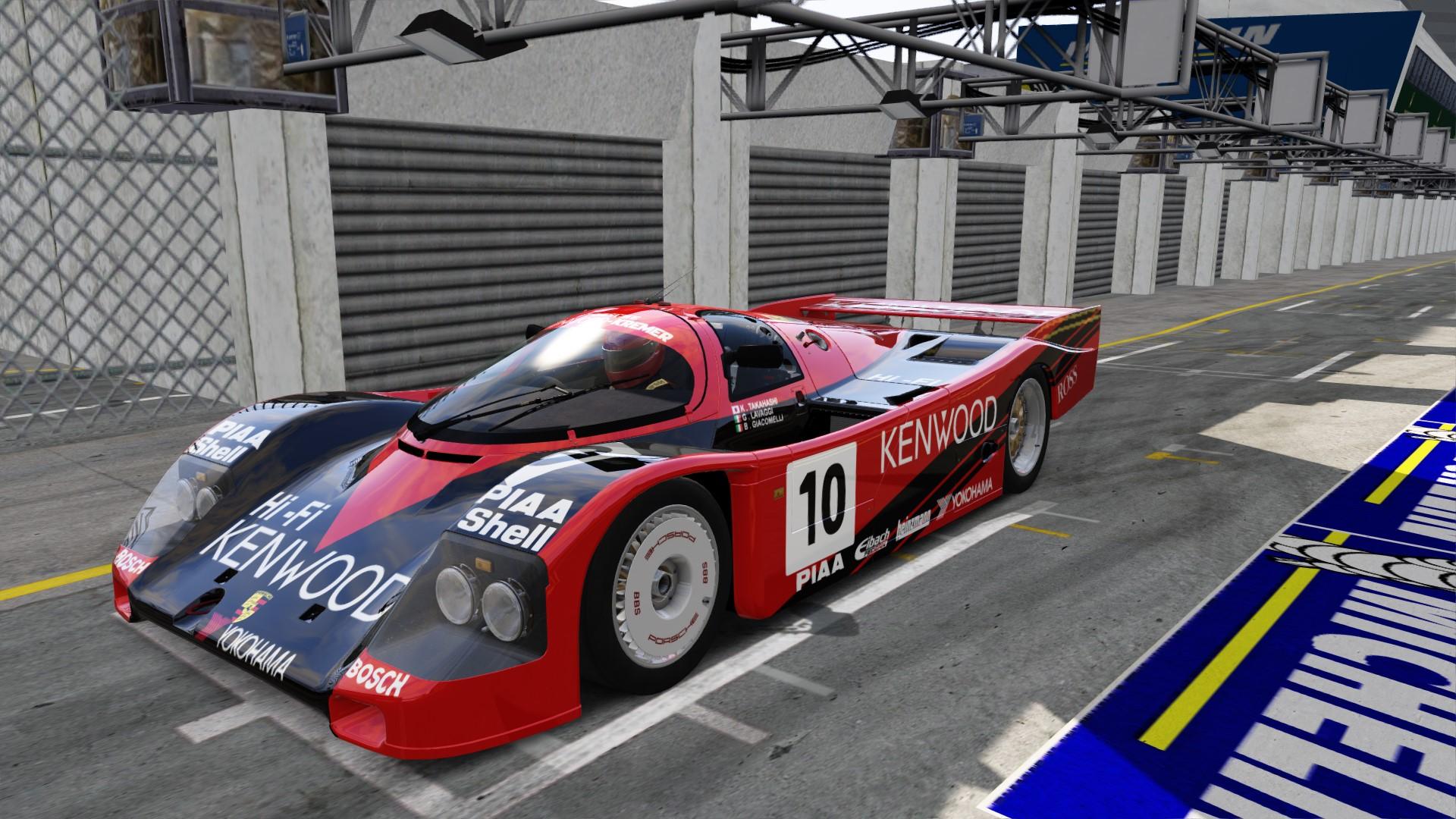 Hasegawa 1/24 Kenwood Kremer Porsche 962C # 20287