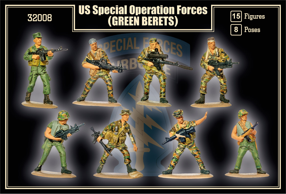Mars 1/32 US Special Forces (Green Berets) # 32008