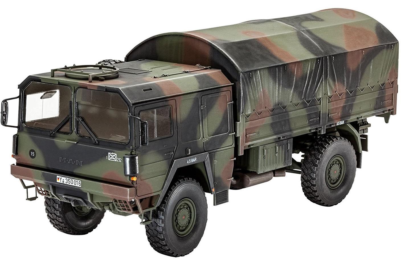 Revell 1 35 Lkw 5t Mil Gl 4x4 Truck 03257