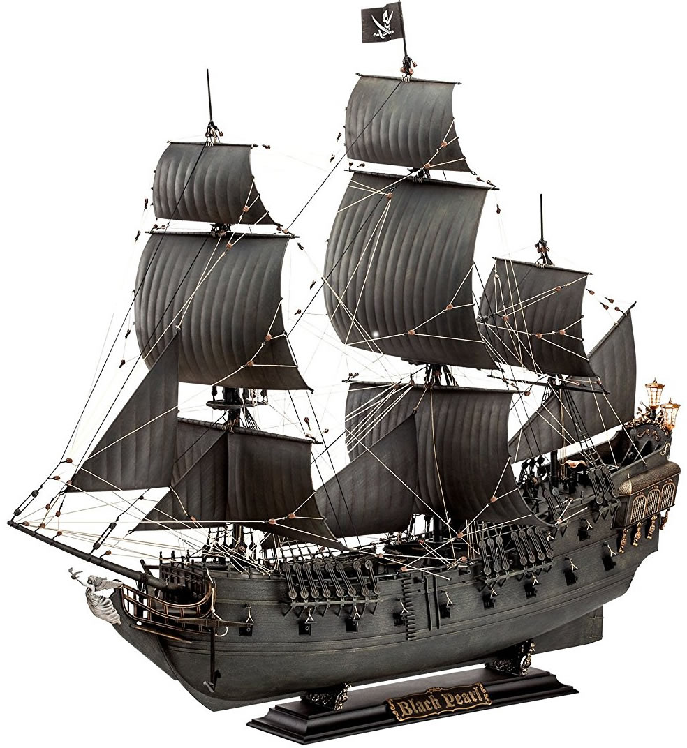 Revell 1/72 Black Pearl Pirate Ship # 05699