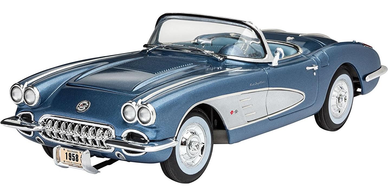 Revell 1/25 '58 Corvette Roadster # 07037