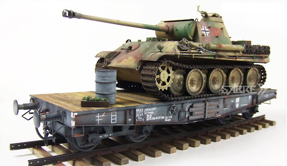 Sabre Models 1/35 German Railway Schwerer Plattformwagen Type SSys # 35A02