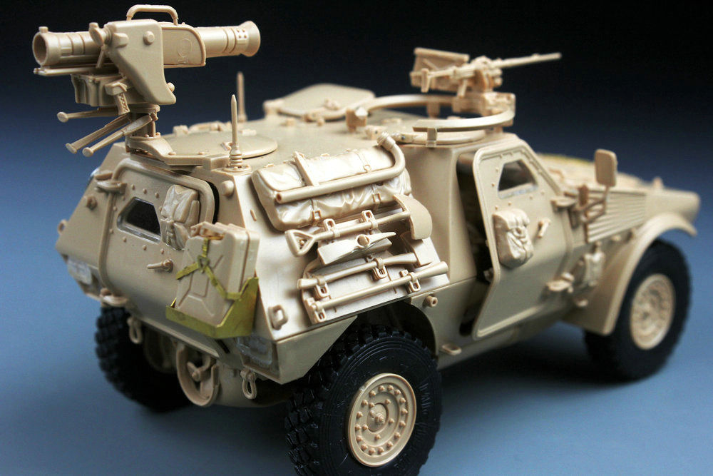 Tiger Models 1/35 French VBL with Milan Anti-Tank Missile Launcher # 4618