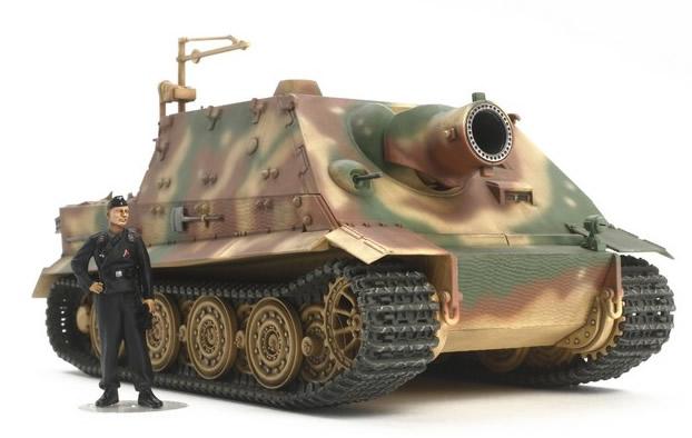 Tamiya 1/48 German 38cm Assault Mortar Sturmtiger # 32591