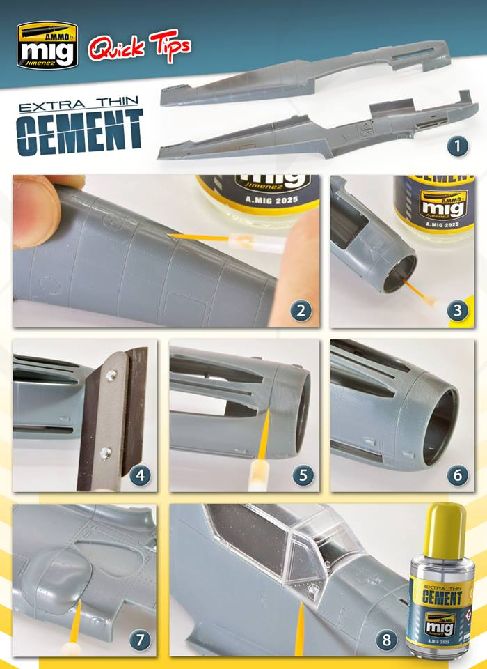 Ammo Mig Extra Thin Cement # 2025
