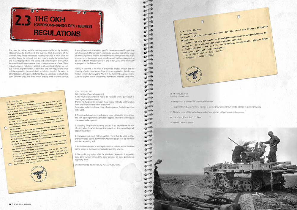 AK Interactive WWII Real Colors Limited Edition Book # AK187