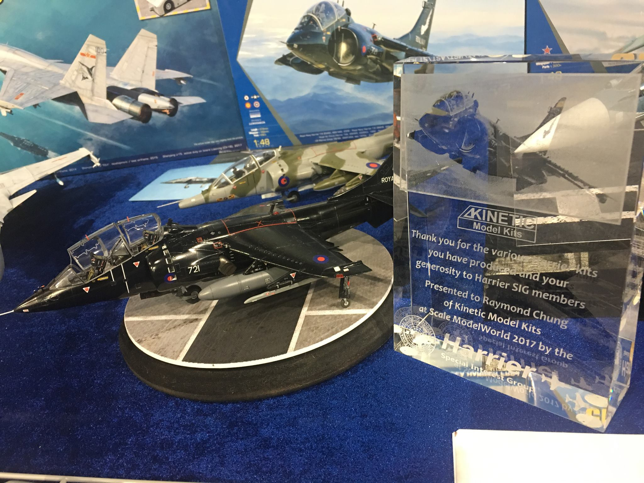 Kinetic Model Kits 1/48 BAe Harrier T.2/T.4/T.8 # 48040