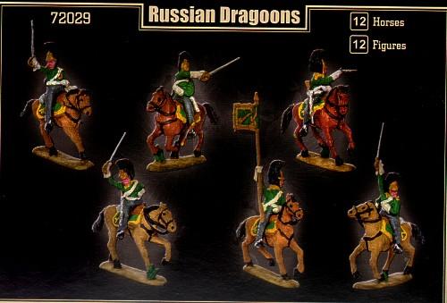 Mars 1/72 Napoleonic Russian Dragoons # 72029