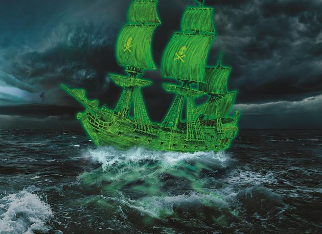 Revell 1/150 Ghost Ship # 05435