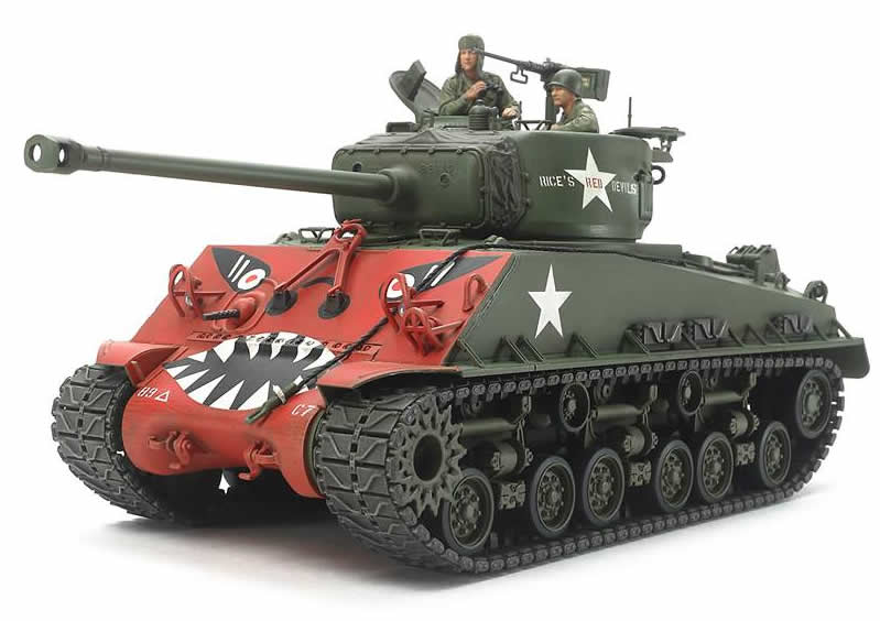"Tamiya 1/35 US Medium Tank M4A3E8 Sherman - ""Easy Eight"" Korean War # 35359"
