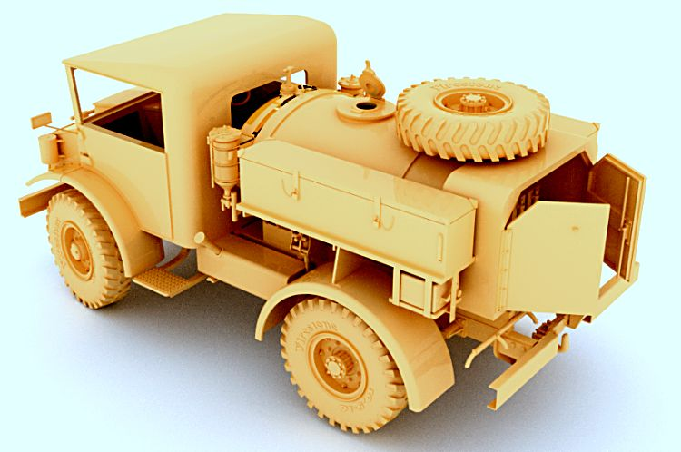 Mirror Models 1/35 CMP F15 Ford Water Truck, 4x2, Cab 11 # 35166