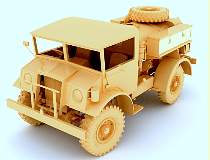 Mirror Models 1/35 CMP F15A Ford Water Truck, 4x4, Cab 13 # 35167