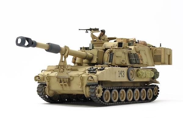 Tamiya 1/35 M109A6 Paladin Iraq War # 37026