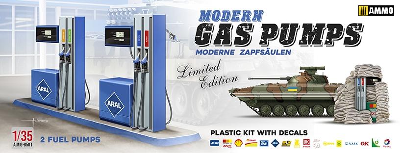 Ammo By Mig Jimenez 1/35 Modern Gas Pumps (Limited Edition) # 8501
