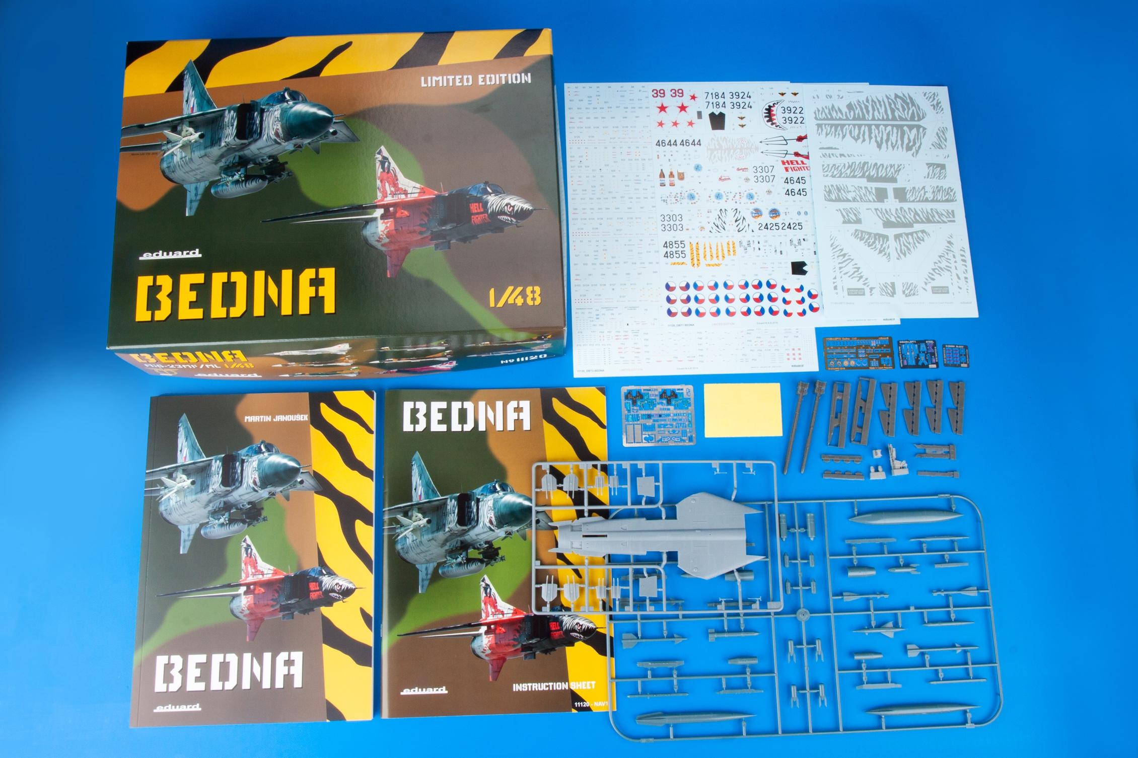 Eduard 1/48 'Bedna' Limited Edition kit # 11120