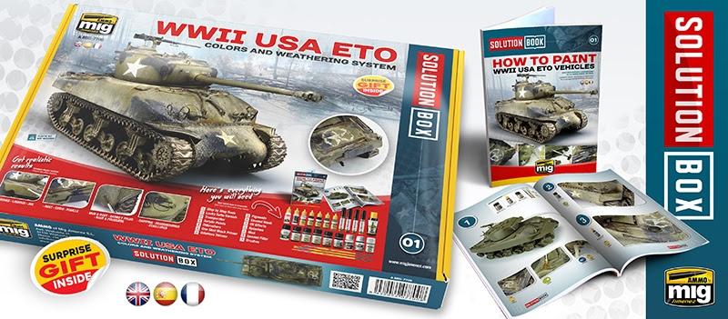 Ammo Mig Solution Box WWII USA ETO # 7700