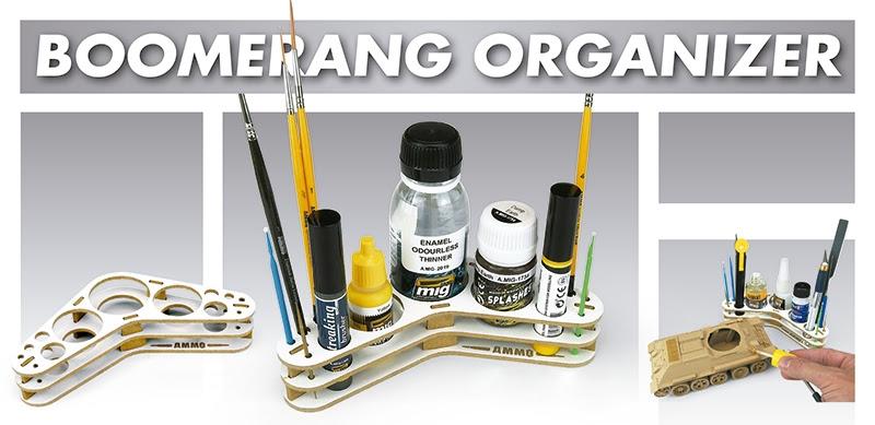 Ammo Mig Boomerang Organizer # 8028