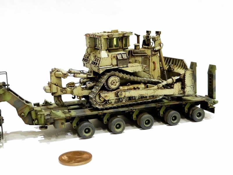Takom 1/72 M1070 & M1000 with D9R # 05002
