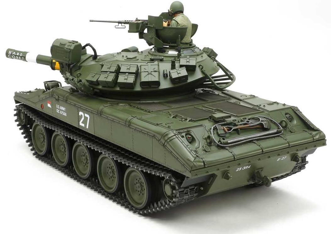 Tamiya 1/16 US M5551 Sheridan Tank with OptionKit # 56043