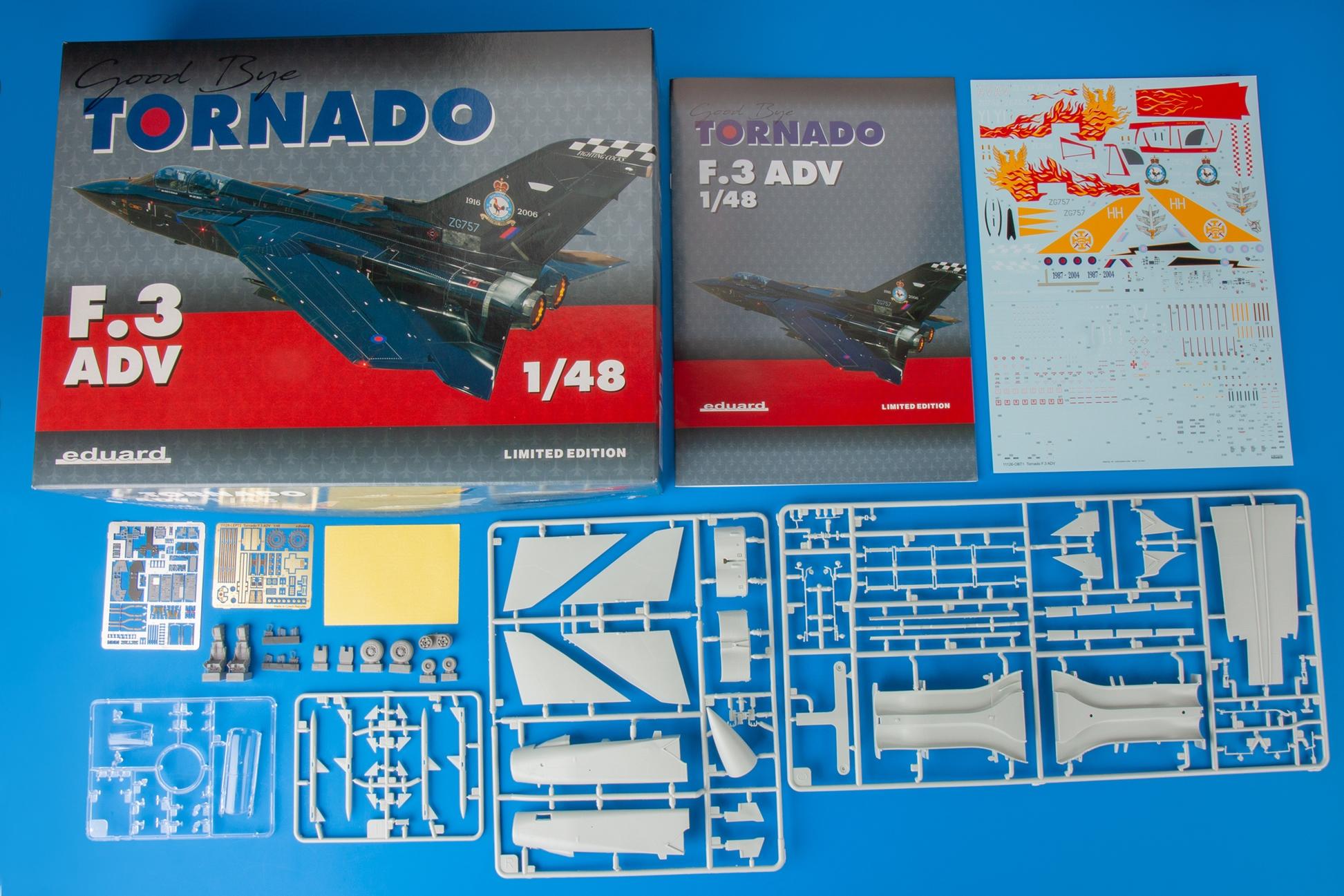 Eduard 1/48 Panavia Tornado F.3 Limited Edition kit of British Jet # 11126