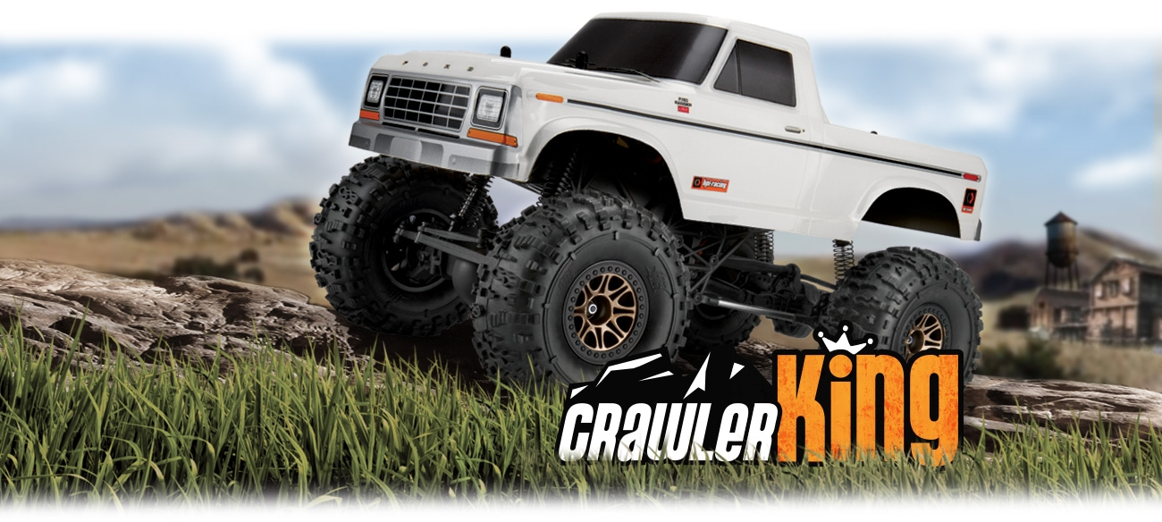 HPI Racing 1/10 Crawler King 1979 Ford F150 # 120099